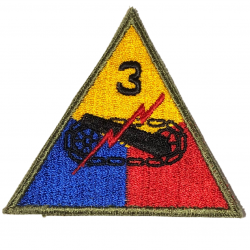 Patch, 3rd Armored Division