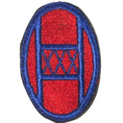 Patch, 30th Infantry Division, Green Back, 1943