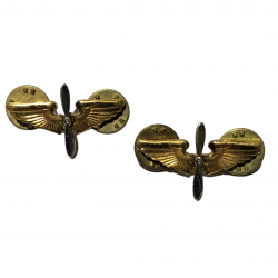 Insignia, Collar, Officer, USAAF, Pair