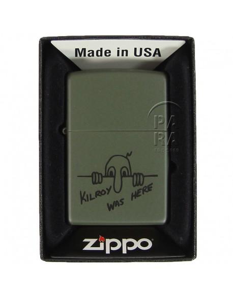 zippo kilroy was here