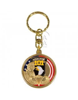 Key Ring, 101st Airborne (Screaming Eagle)