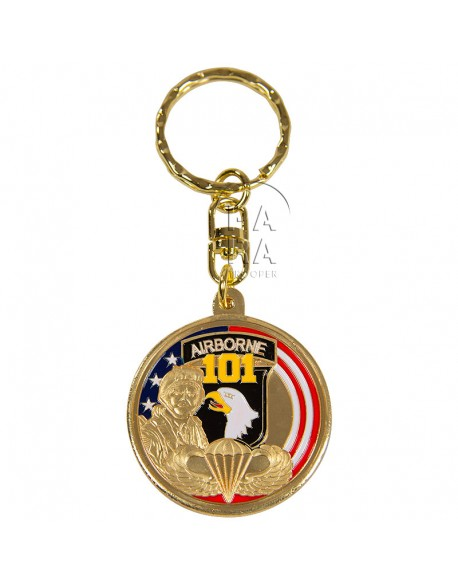 Key Ring, 101st (Screaming Eagle)