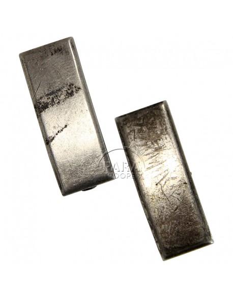 Paire de grades en métal de 1er Lt