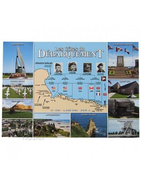 Postcard, Landing Beaches