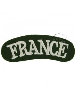 Titre d'épaule FRANCE
