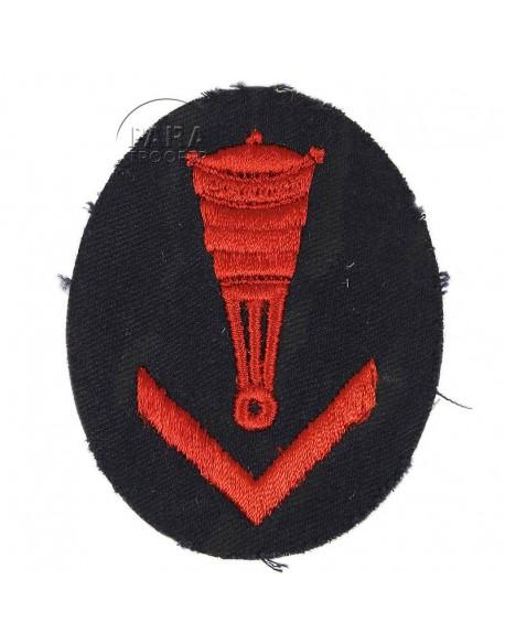 Patch, Sleeve,Blockade Weapons Foreman's, Kriegsmarine