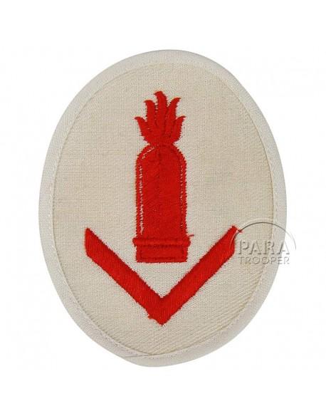 Insigne de chef d'artillerie de petit calibre Kriegsmarine