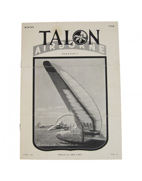 Journal, The Talon,17th AB Div., 1946