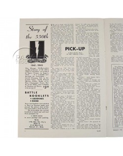 Newspaper, The Talon, 17th Airborne Div., 1946
