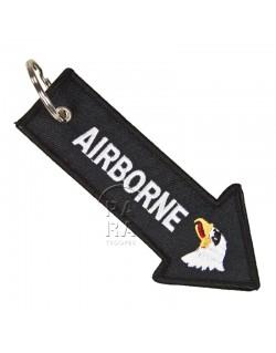 Porte-clés 101ème Airborne, flèche