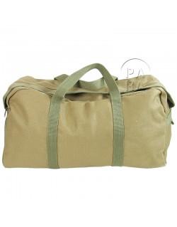 Satchel bag, canvas, large pattern
