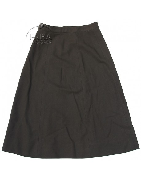 Skirt, Wool, OD, Women's, Officer's