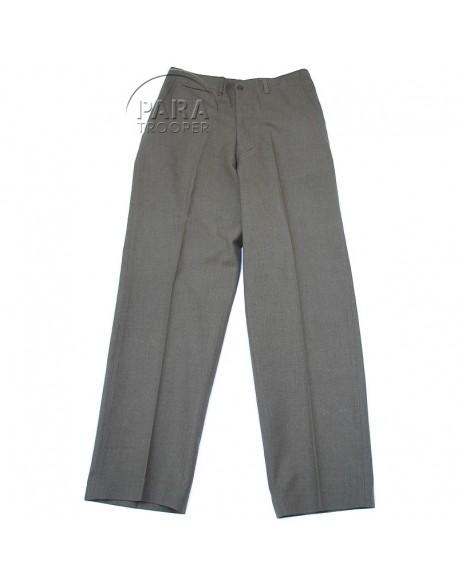 Trousers, Wool, Serge, OD, Light shade, 36x35, 1944