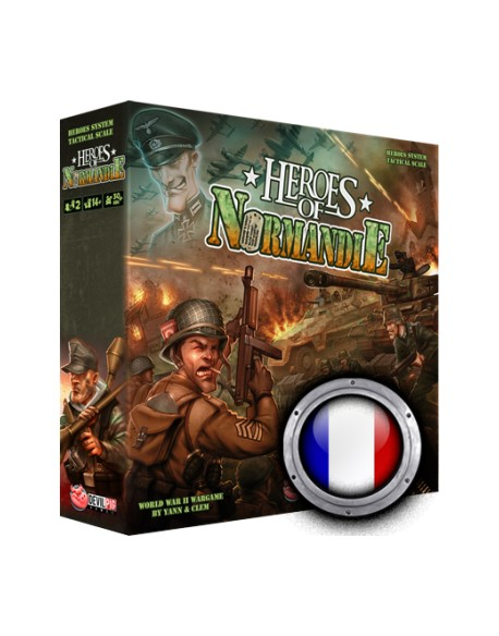 Boite de jeu, Heroes of Normandie