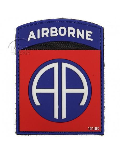 Insigne tactique PVC 3D, 82e Airborne