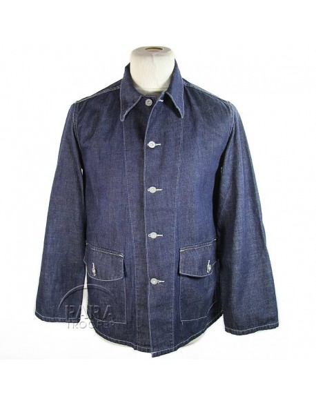 Jacket, Work, Blue-Denim, M-1940