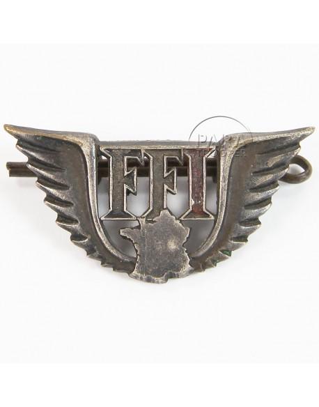 Badge, Free French (F.F.I)
