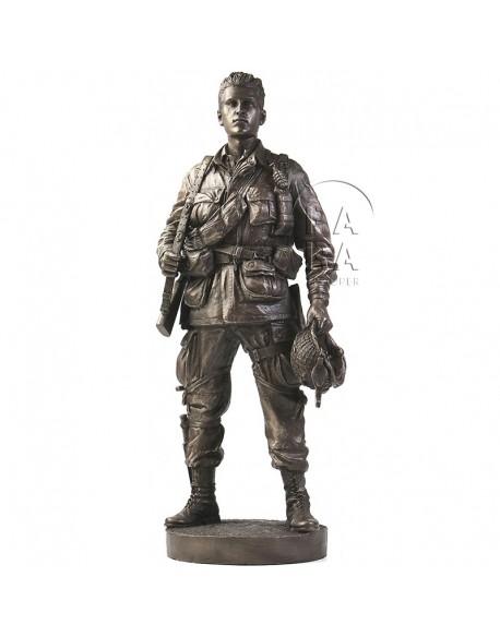 Statue 101st Airborne, Ravenoville, Normandy, D-DAY + 1