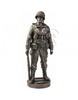 Statue GI première vague d'assaut - Normandie