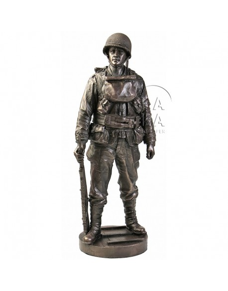 Statue U.S. Infantryman Assault Boat Team - Normandy