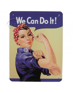 Tin, Sign, We Can Do It!