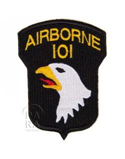Insigne de la 101ème division aéroportée, numéroté 101