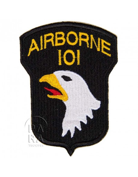 Patch, shoulder, 101st Airborne Division, numbered 101