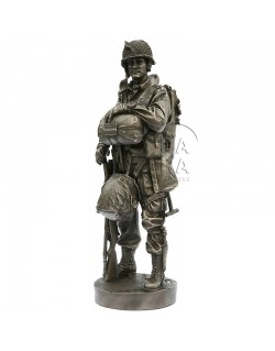 "Statue 82nd Airborne, ""All American"", D-DAY Minus 1, 1944"