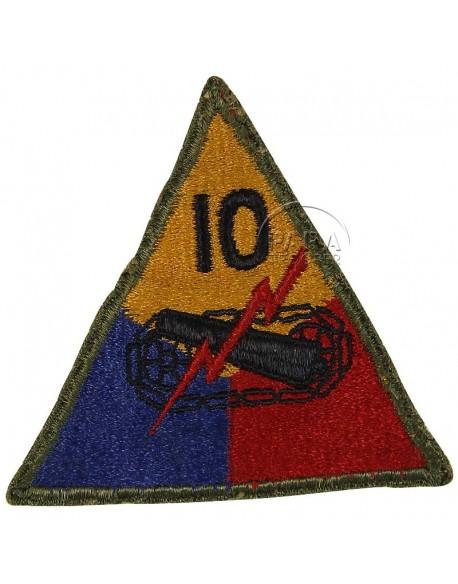 Insigne 10e division blindée US