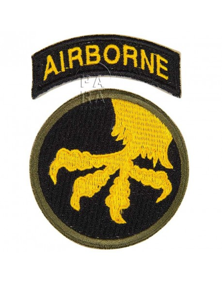 Insigne de la 17ème division d'infanterie aéroportée