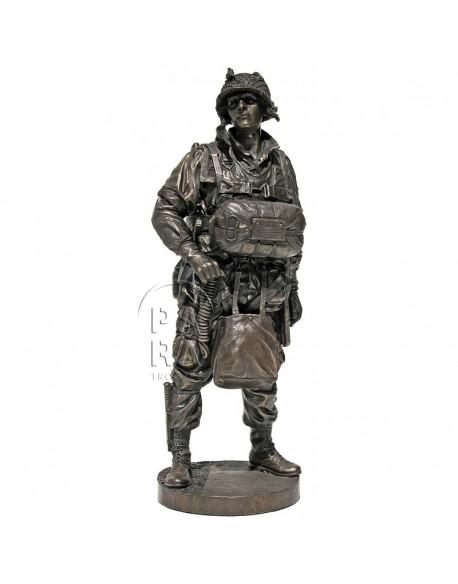 "Statue 101st Airborne, ""Screaming Eagle, juin 1944"