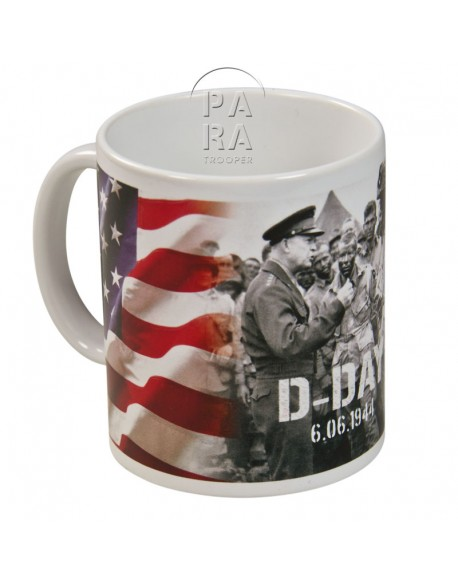 Mug, D-Day - Eisenhower
