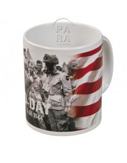 Mug, D-Day - Eisenhower