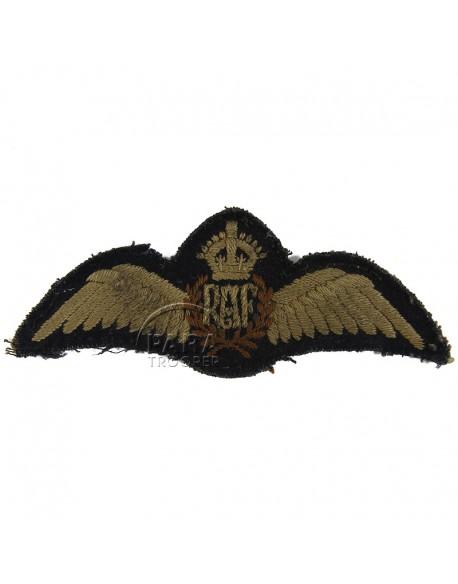 Wings, Pilot, Royal Air Force