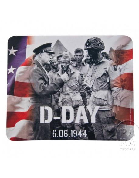 Tapis de souris Eisenhower avec la 101ème Airborne