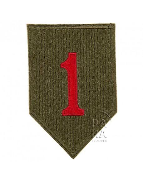 Insigne de la 1ère division d'infanterie