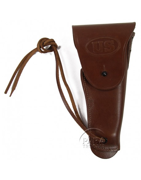 Holster, Belt, Pistol, Brown