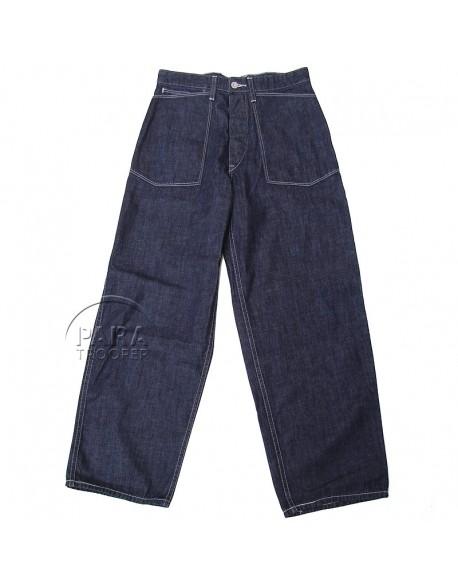 Trousers, Jeans, pattern 1940