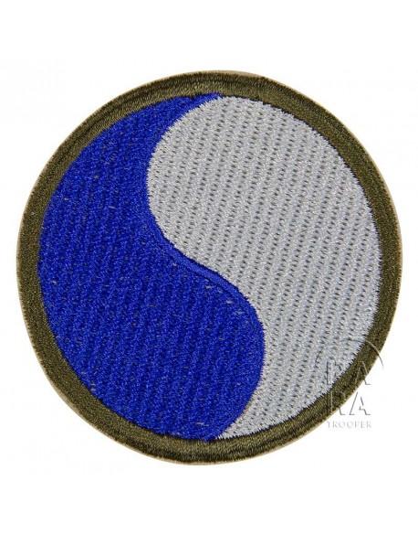 Insigne de la 29ème division d'infanterie US