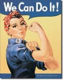 Plaque publicitaire, We Can Do It!