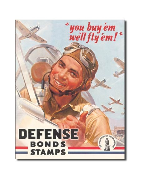 Tin Sign, You buy'em, we'll fly'em