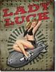 Plaque publicitaire, LADY LUCK