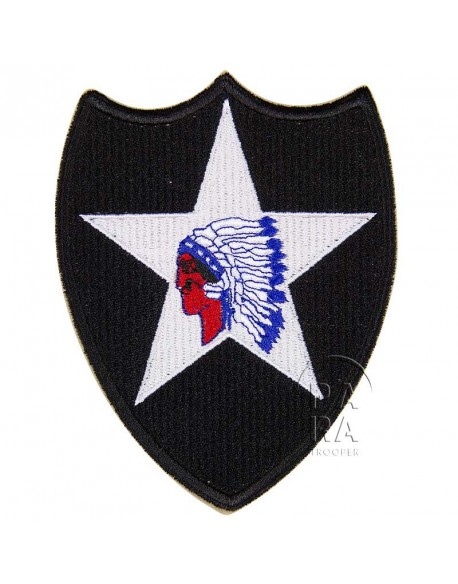 Insigne de la 2ème division d'infanterie US