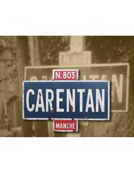 Panneau Carentan, N803, 6 juin 1944
