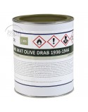Paint, US Army, Olive Drab matt 36-44, 1 liter