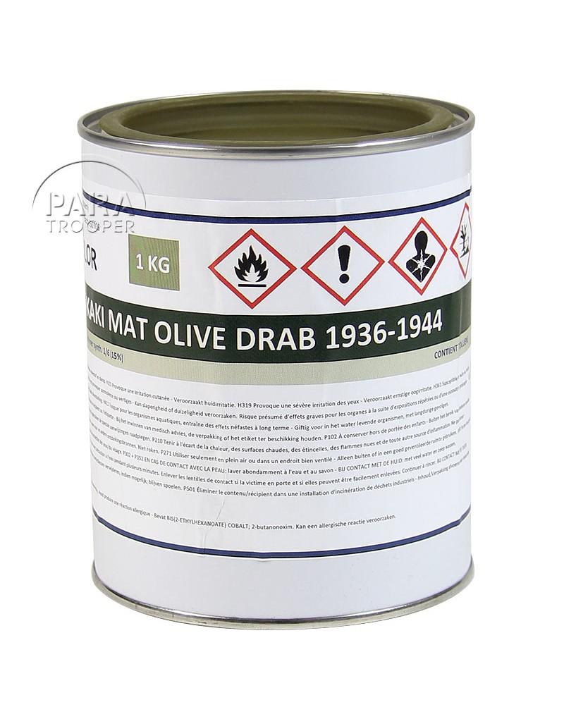 Peinture us army olive drab mat 36 44 en pot paratrooper - Pot de peinture prix ...