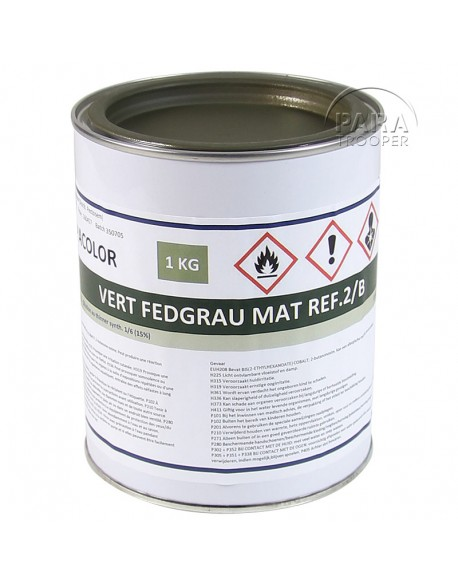 Paint, German, 1L, feldgrau