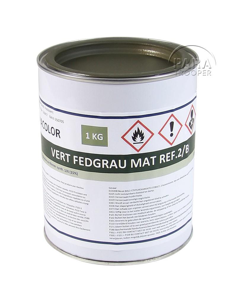 Peinture allemande pot 1l feldgrau paratrooper - Pot de peinture prix ...