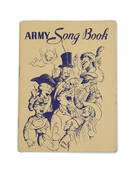Livret de chants, Army Song Book , 1941