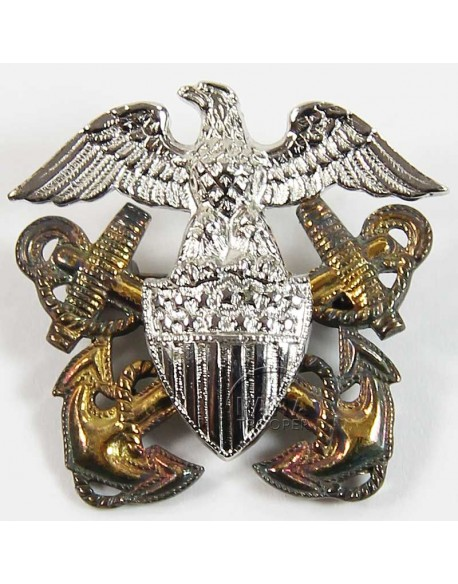 Insigne de calot officier US Navy